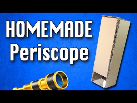 How To Make a Periscope | Homemade Periscope DIY