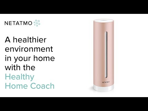 Netatmo Smart Indoor Air Quality Monitor