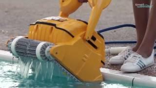 time4wellness zeigt: Den Dolphin Wave 100, Leistungsstarker, professioneller Schwimmbadreiniger-für Schwimmbäder mit einer Länge von bis zu 25 Metern.► Zum Produkt: » Dolphin Wave 100 «Bestes Preis-Leistungsverhältnis im Bereich der kommerziellen Schwimmbadreinigung.Hocheffiziente, vollautomatische Reinigung von Schwimmbädern in Hotels, auf Campingplätzen und in Schulen. Das fortschrittliche gyroskopische System gewährleistet ein akkurates Scannen und dadurch eine systematische Abdeckung des Schwimmbadbodens, der Schwimmbadwände und der Wasserlinie. Das hochleistungsfähige Filtersystem sammelt Schmutz, Staub und aile anderen Verschmutzungsarten und hinterlasst wah rend des gesamten Reinigungszykluses sauberes und hygienisches Wasser.» Sie finden uns auch bei «► Online-Shop: http://www.time4wellness.de► Facebook: https://www.facebook.com/time4wellness► Google+: https://google.com/+Time4wellnessDe-info► Youtube: https://www.youtube.com/time4wellnesstv► Twitter:► Instagram: