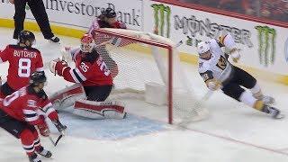 Alex Tuch opens scoring on pretty wraparound by NHL