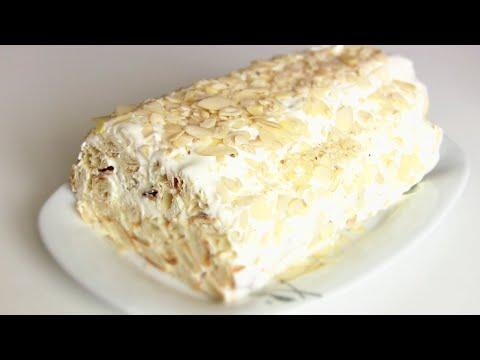 Торт из готового слоеного теста рецепты