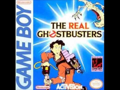 The Real Ghostbusters Game Boy