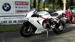 2. 2014 MV Agusta F3 675 ABS in White at Euro Cycles of Tampa Bay