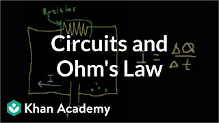 Introduction to circuits and Ohm's law | Circuits | Physics | Khan Academy
