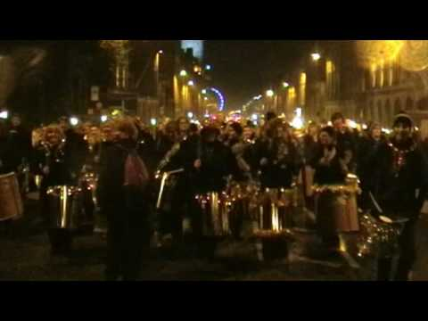 Edinburgh's Torchlight Procession