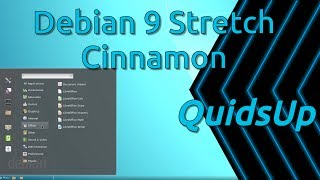 """Review of Debian 9 """"Stretch"""" with the not-so-solid Cinnamon desktop.Debian is a slow release and long term support Linux Distribution, which makes it ideal for using on Servers or corporate environments.System install built from Net Install iso.Website: https://www.debian.org/Please donate and help support my work:Patreon: https://www.patreon.com/quidsupPaypal: https://www.paypal.me/quidsupGoogle+ https://google.com/+quidsupTwitter: https://twitter.com/quidsupMinds: https://minds.com/quidsup"""