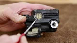6. Front Master Cylinder Sight Glass Removal and Replacement