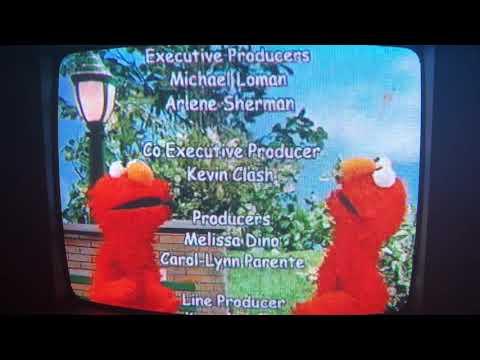 Elmo's World Birthdays Games And More Credits VHS Rip