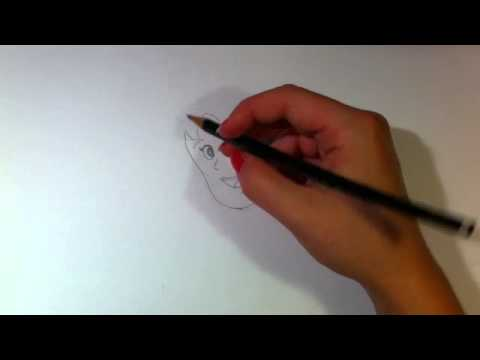 Heidi zeichnen lernen / Heidi malen – Anleitung