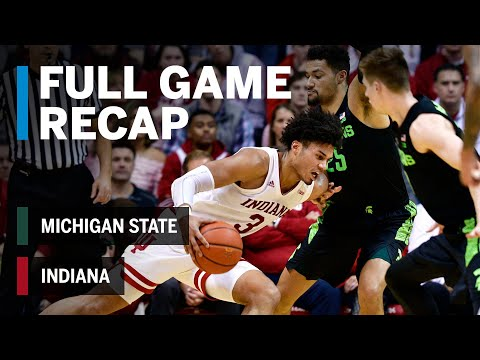 Full Game Recap: Justin Smith Drops 24 Points in a Win | Michigan State vs. Indiana | March 2, 2019