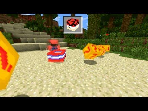 Mario Kart in Minecraft