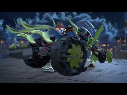 LEGO Ninjago - Láncmotoros támadás
