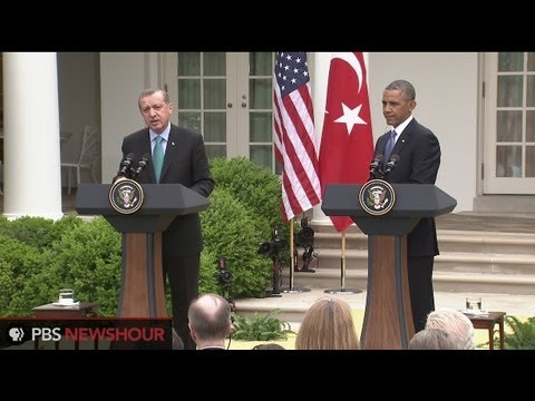 Erdogan; - President Barack Obama said Thursday that the U.S. and Turkey will keep ramping up pressure to oust Syrian President Bashar Assad from power, with his countr...