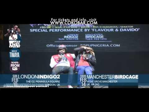 Bovi The Runs Girl FT Basketmouth  African Kings of Comedy - Valentine 2013 Tkts- www.cokobar.comfre