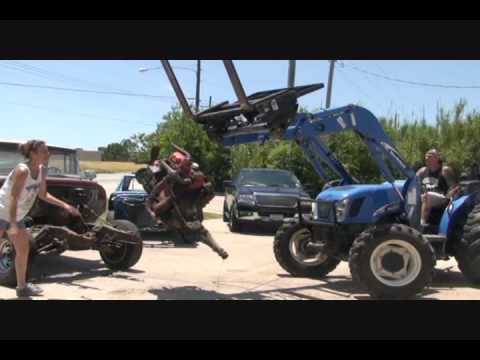 1961 GMC Truck-Removing The V6 Engine and Transmission The Easy Way