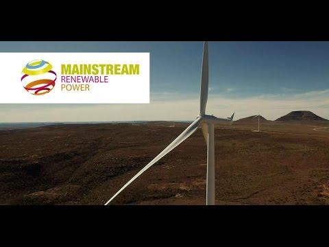 Building the Noupoort wind farm