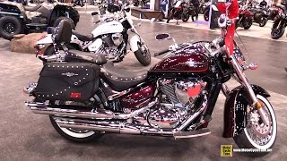 10. 2015 Suzuki Bouleverd C 50T - Walkaround - 2014 New York Motorcycle Show
