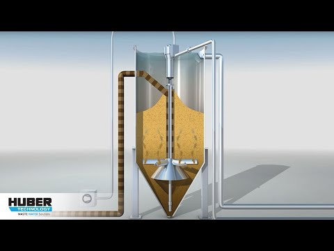 HUBER Sandfilter CONTIFLOW® - animation and function