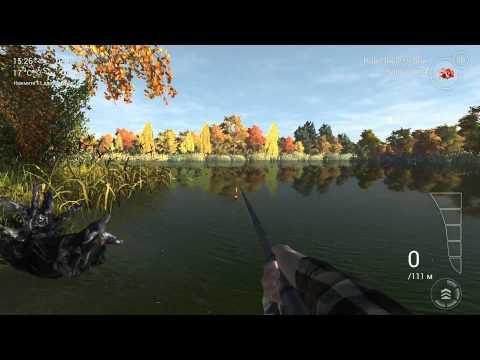 fishing planet ловля на озере эмеральд