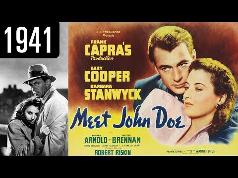 Meet John Doe  - Full Movie - GREAT QUALITY (1941)