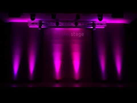 Colorstage PAR LED 12X3W RGBW