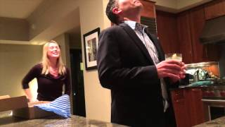 I surprised my husband with the news that we were having our first baby... For once he is the one on camera... & his shocked face is priceless! And yes he is very ...