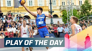 Check out this great defensive play by the Philippine's Kobe Paras in their game against Hungary! Subscribe to the 3x3planet channel: ...