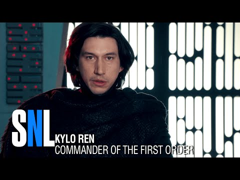 SNL - Undercover Boss With Kylo Ren