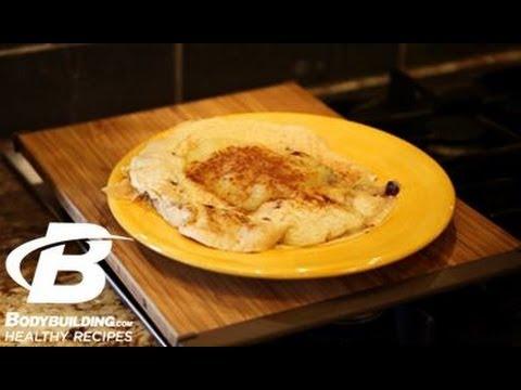 Healthy Recipes: Blueberry Protein Pancakes