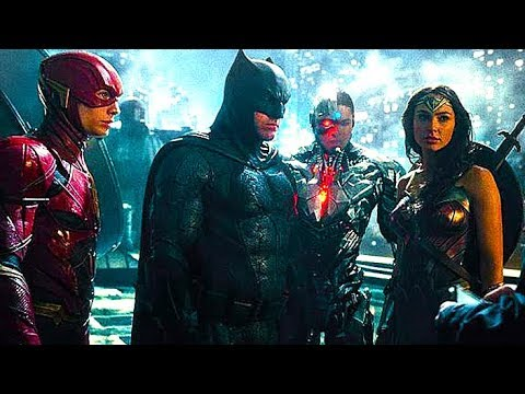 Justice League Full Movie (2017) All Cutscenes Game
