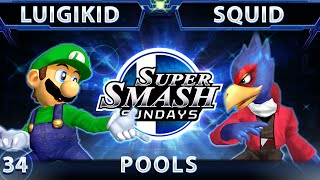 Anyone know wtf is happening to luigi at 2:10? (luigikid vs Squid: pools at SSS)