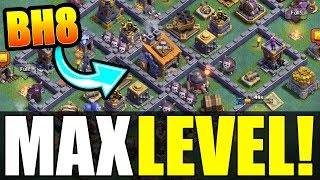 "Video NEW ""MAX BUILDERS HALL 8"" BASE! - Clash Of Clans ALL MAX UPGRADES LEAKED! MP3, 3GP, MP4, WEBM, AVI, FLV Oktober 2017"