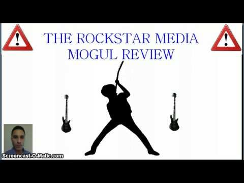 media mogul - The RockStar Media Mogul Review - Is The RockStar Media Mogul exactly as advertised? http://www.WorkingAtHome4U.com/yt002.html - Don't spend your money until...