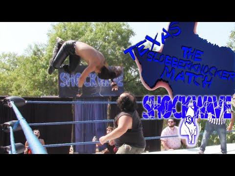 The Texas Slobberknocker match   ESW Shockwave season 4