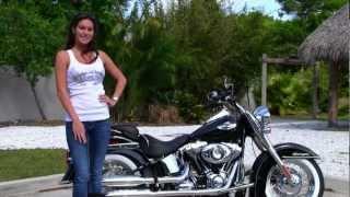 5. New 2013 Harley-Davidson FLSTN Softail Deluxe in Vivid Black for Sale