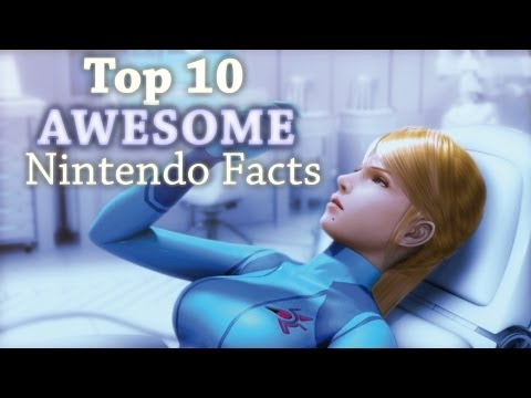 Top 10 AWESOME Nintendo Facts