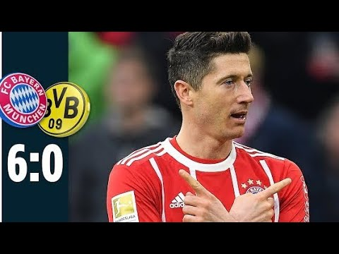 BAYERN VS DORTMUND 6:0 Highlights 2018
