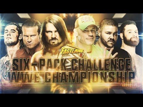 WWE Fastlane 2018 - 6-Pack Challenge Match (WWE Championship)
