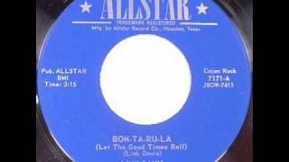 This record was released in 1958 on Allstar in Houston, TX. The rights to the recording and the publishing belong to Dan Mechura...