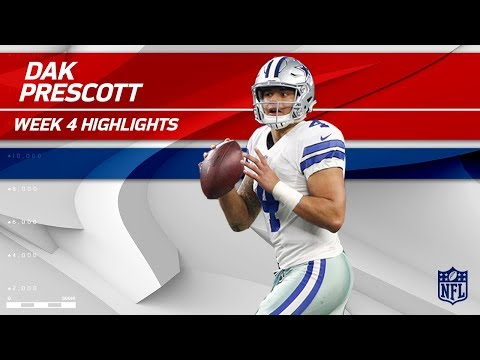 Video: Dak Prescott's 3 TD Game vs. Los Angeles! | Rams vs. Cowboys | Wk 4 Player Highlights