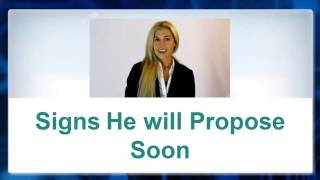 Here are some Proven Signs He will propose Soon and wants to Marry You -▻ http://GirlgetsRingGuide.com ◅- Try Highly...
