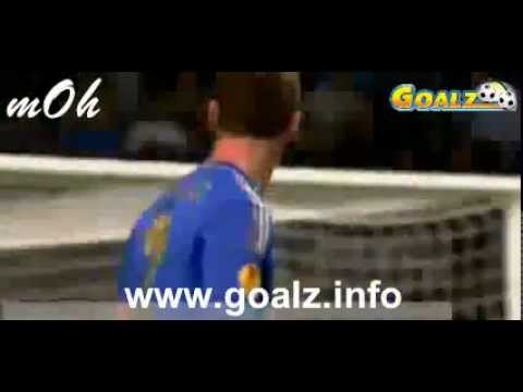 Benfica Lissabon vs Chelsea London 1-2 Branislav Ivanovic Amazing GOAL 15-05-2013 FINAL MATCH
