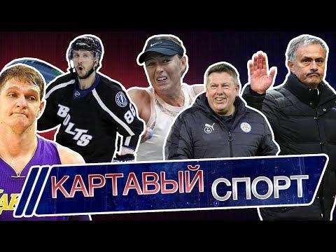 Картавый спорт. Лига Чемпионов, Шарапова и новый сезон в NBA (видео)