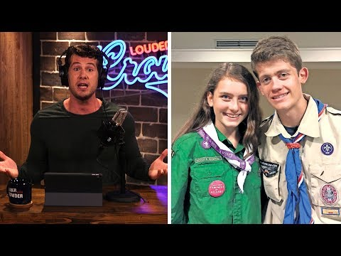 Boy Scouts ARE DEAD: How Feminism Is Destroying Young Men... | Louder With Crowder