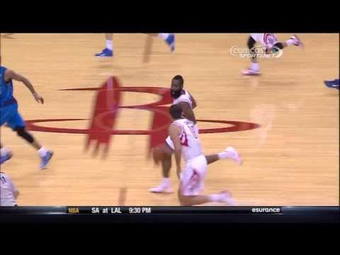 Casspi strips Dirk Nowitzki, Dwight Howard finishes on the other end