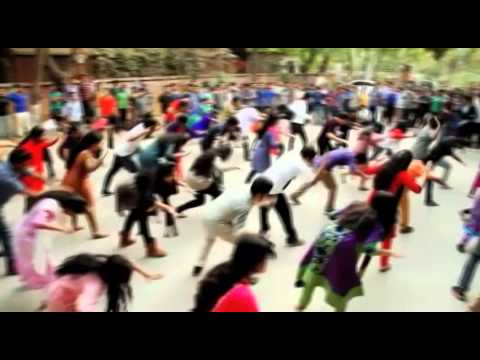 ICC World Twenty 20 Bangladesh , Flash Mob – Faculty of Business Studies, University of Dhaka