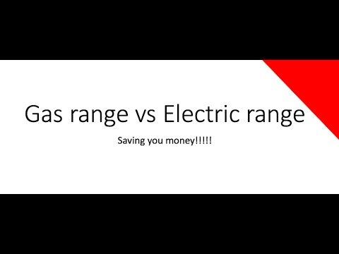 Electric Range vs Gas Range
