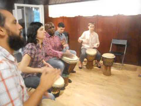 DRUM CIRCLE whith IKHAYA – Green HOURS