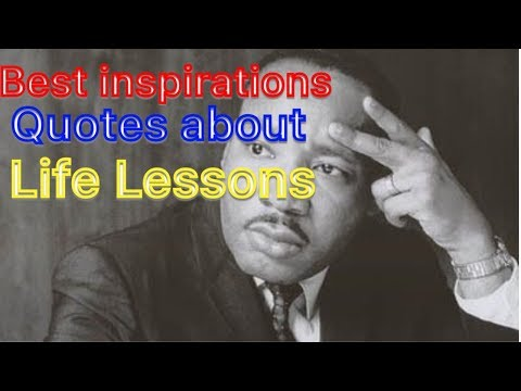 Best Inspiration Quotes about life lessons