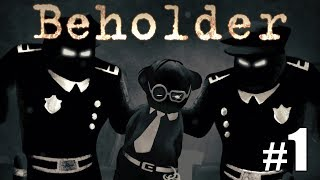 A dark game about spying, lies and moral dilemma! Let's play Beholder.Support me: http://www.patreon.com/cobrak